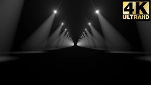Volume Light Corridor Loop 4k