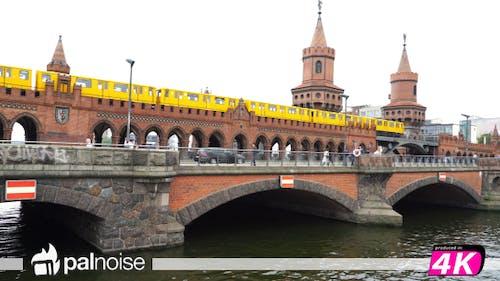 Berlin Bridge & Train