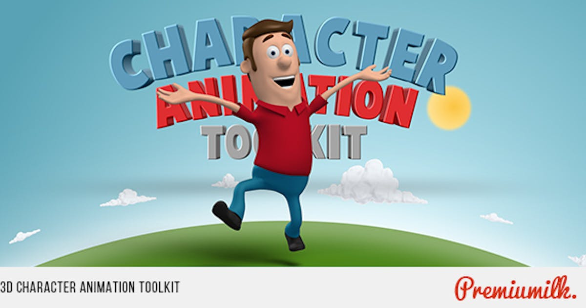 Download 3D Character Animation Toolkit by Premiumilk