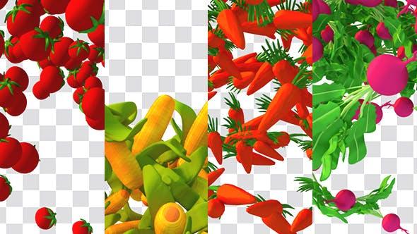 Thumbnail for Cartoon Vegetable Transition