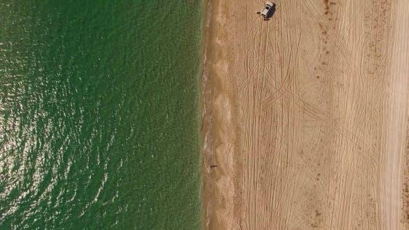 Sandy Beach In Crimea