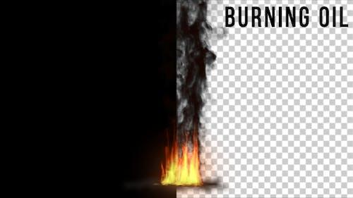 Burning Oil 4K