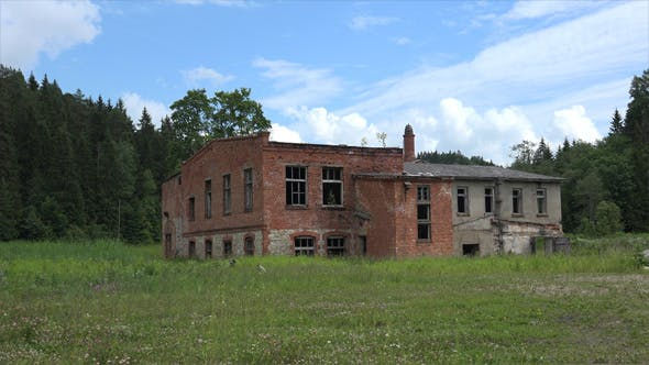 Ghost Town or Abandoned Building