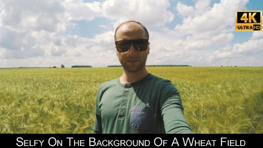 Thumbnail for Selfy On The Background Of A Wheat Field 2