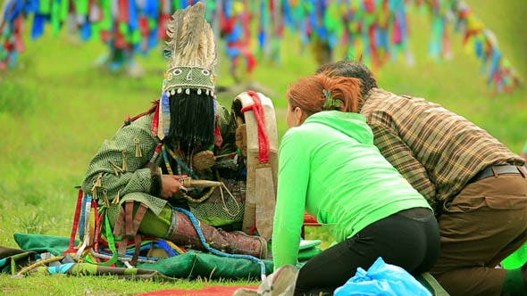 Thumbnail for Shaman Ceremony in Mongolia 2
