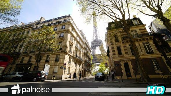 Thumbnail for Paris Luxury Streets Eiffel Tower