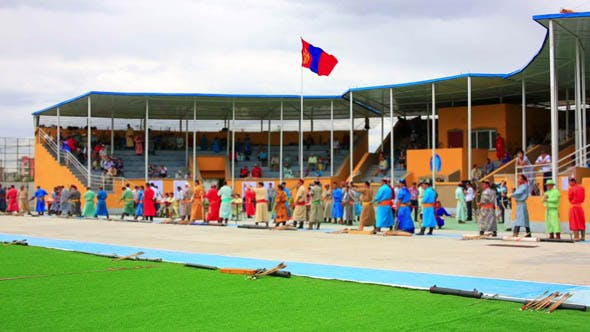 Thumbnail for Archery Tournament During Naadam Festival