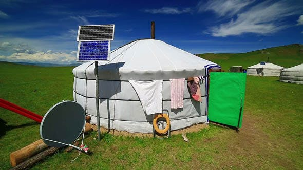 Thumbnail for Mongolian Ger Camps with Solar Power 3
