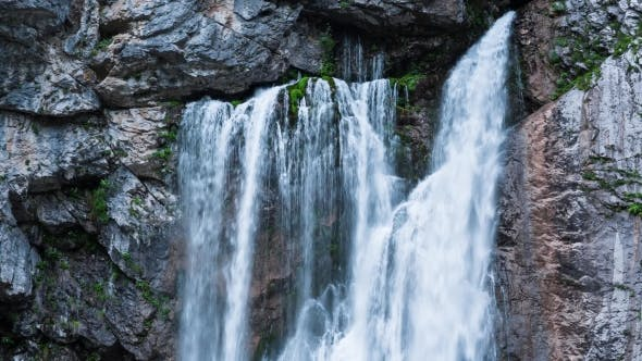 Thumbnail for Waterfall in the Mountains