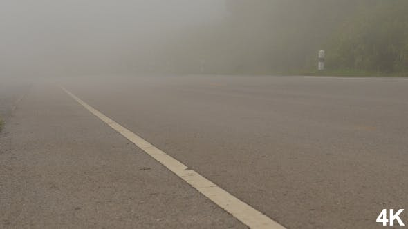 Thumbnail for Fog Moving On Road