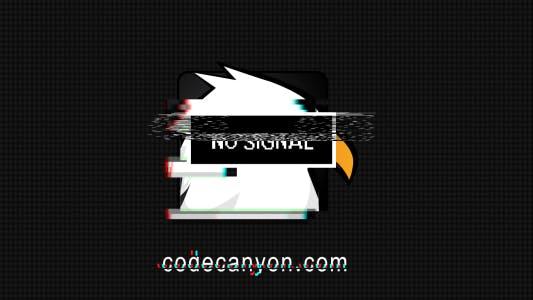 Thumbnail for No Signal Glitch Logo
