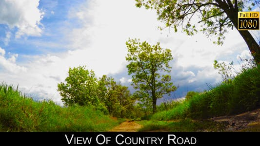 Cover Image for View Of Country Road 2