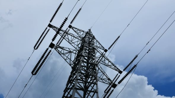Thumbnail for Electricity Pylon With Stormy Sky