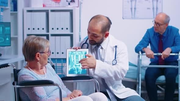 Thumbnail for Brain X Ray Image of Elderly Senior Woman