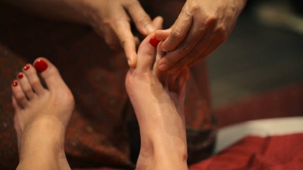 Thumbnail for Massage Webbing Of Fingers Bamboo Stick.