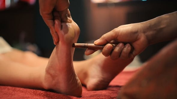 Thumbnail for Thai Massage Of Female Foot