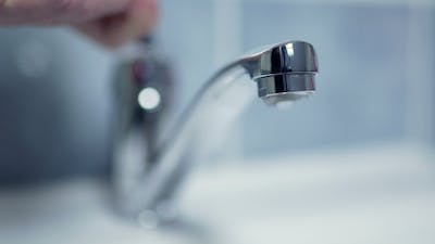 Silver Faucet Water Drips Dripping