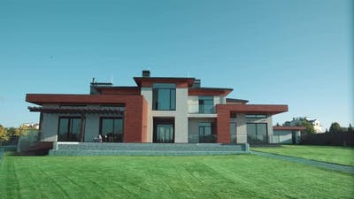 Luxury Modern House. Private Residance. Expencive Residential Villa