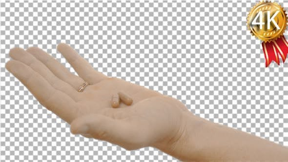 Thumbnail for Male Hand Has Unclenched the Fist Man's Hand in