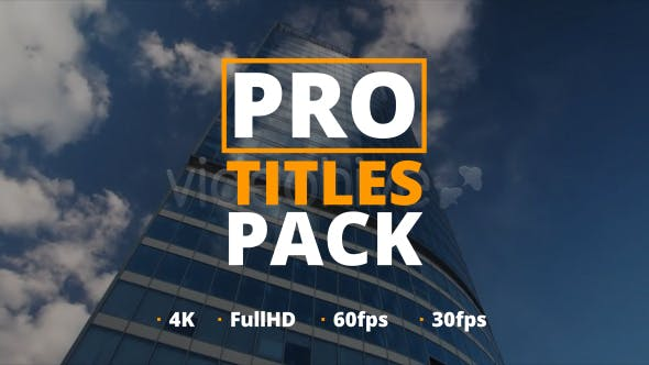 Thumbnail for Pro Titles Pack