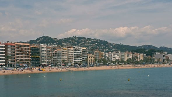 Thumbnail for The Beaches Of Costa Brava In Lloret De Mar, Spain.