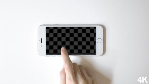 Smartphone Promo With Alpha