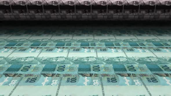Money Printing Brazilian Real