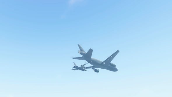 Thumbnail for Aerial Refueling - 2