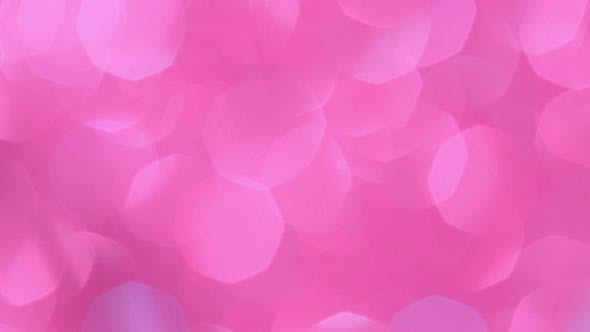 Thumbnail for Abstract Background with Shining Pink Bokeh Sparkles. Glittering Particles. Defocused Circular