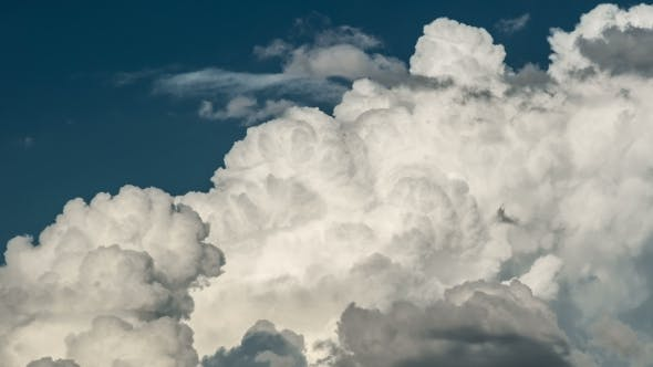 Thumbnail for Of White, Fluffy, Bubbling Cumulous Storm Clouds