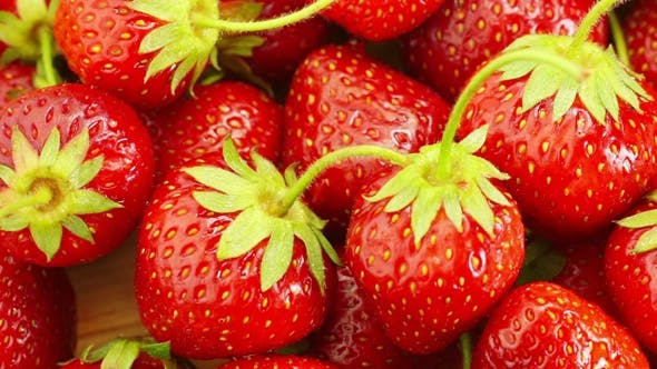 Thumbnail for Red Strawberries Rotate.
