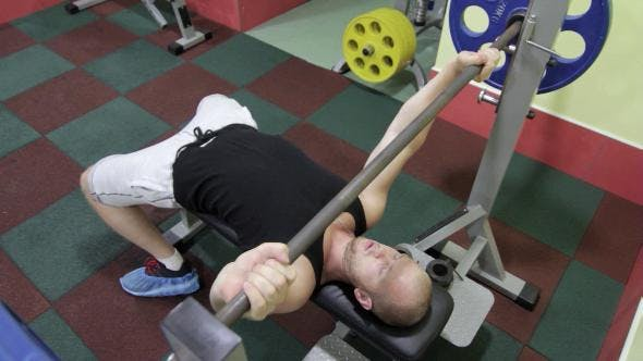 Thumbnail for The Man Raises The Bar In The Gym