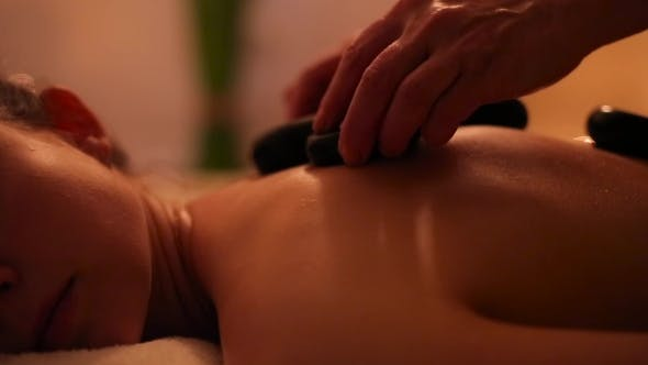Thumbnail for Stone Therapy Massage For a Girl