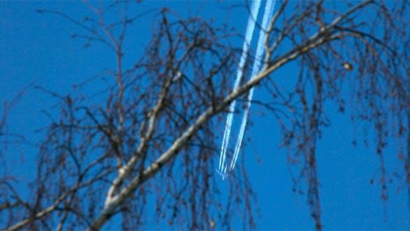 Jet In Sky