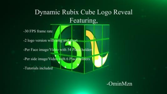 Thumbnail for Revelar el Logo de Rubix Cube dinámico