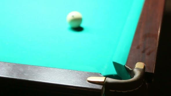 Thumbnail for Billiards. The Ball Rolled Into The Pocket