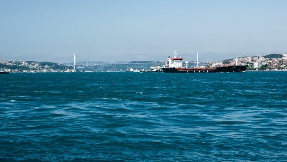 Thumbnail for Sea Traffic In Bosphorus Strait