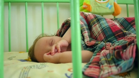 Thumbnail for Baby Sleeping In Crib