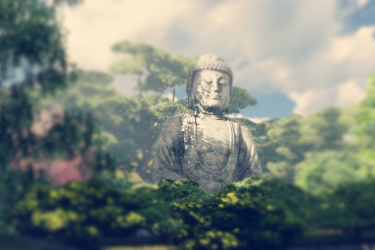 The Buddha Garden By Handrox G On Envato Elements