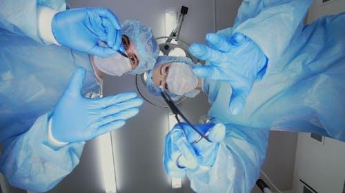 Surgery Team Works
