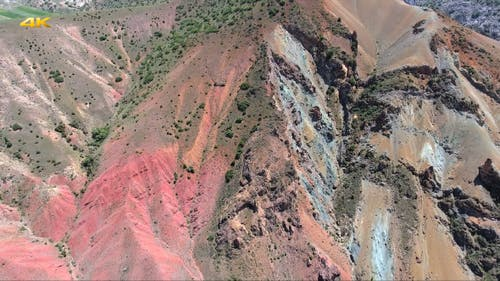 Aerial Ore Mountain