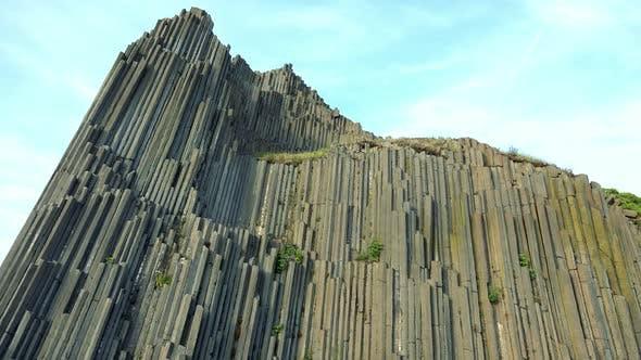 Thumbnail for A High Columnar Basalt Rock
