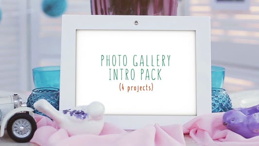 Thumbnail for Photo Gallery Intro Pack
