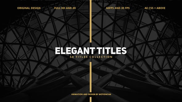 Thumbnail for 50 Elegant Titles