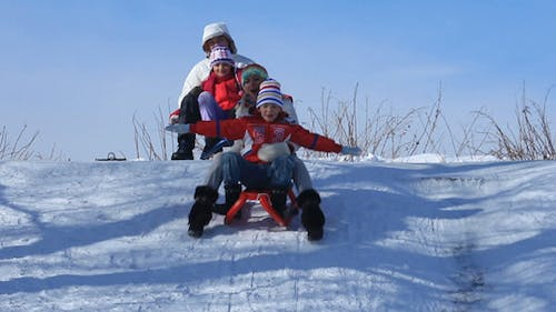Riding The Sleighs