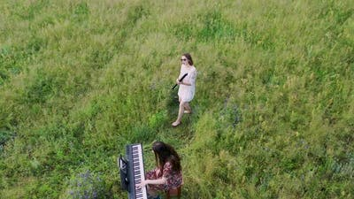 Musicians in the Field