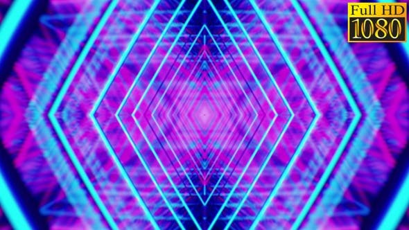 Thumbnail for Retrowave Kaleidoscope Vj Loops Pack V1