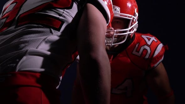 Thumbnail for American Football Players Fighting