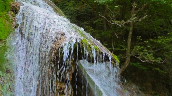 Thumbnail for Picturesque Waterfall Dzhur Dzhur In Motion