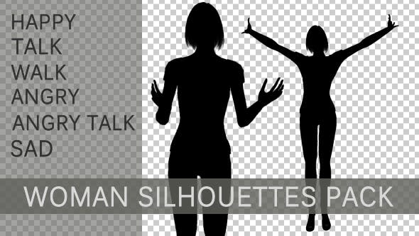 Thumbnail for Modern Woman Silhouettes Pack